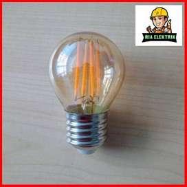 LAMPU LED FILAMENT 4 WATT / LAMPU EDISON 4 WATT E27 / LED BULB G45