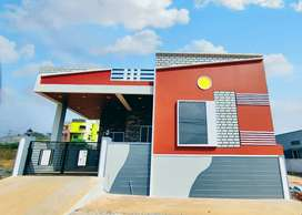 NEWLY constructed 2Bhk House with Borewell facility for sale