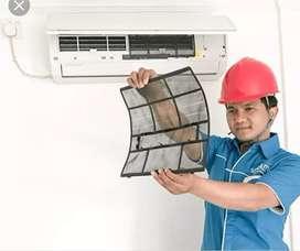 Mekanik jasa perbaikan AC,MESIN CUCI,KULKAS