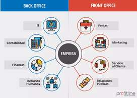 Back office data entry