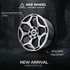 Velg Mobil Trailbleze Ring 20 HSR MYTH10 Model Terbaru