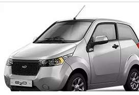 Daily pickup and drop service reva e2o car