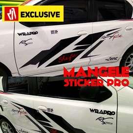 Cutting Stiker Pintu Mobil Top Mangele Premium Bandung