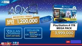 PS4 mega pack credit discount 1,2jt