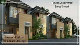 Rumah 2 Lantai HARGA 1 Lantai Di Padang, Lokasi Strategis
