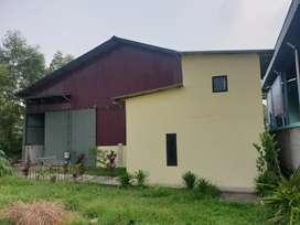 Jual Gudang (bangunan), termasuk sewa tanah selama 9 tahun