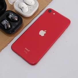 Iphone SE 2020 64gb merah garansi tam