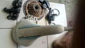 Aksesoris sepeda MTB.