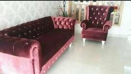 Sofa mewah model terbaru Turkey Seatter 3,2,1