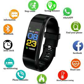 Smartwatch Smartband i115 Plus Black Edition