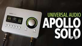 Universal Appolo Solo Usb Audio interface