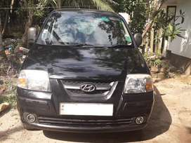 Santro 2006 2nd owner family use no accident good condition