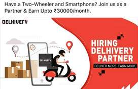 Courier delivery boys needed at Kochi, Kerala