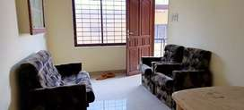 Edappally semi furnished two bedroom house for bachelors 10000