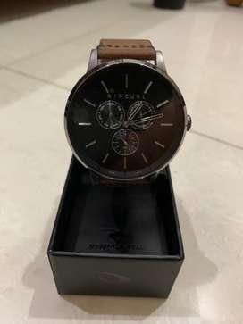 Jam tangan Rip Curl Detroit Multieye Midnight Leather