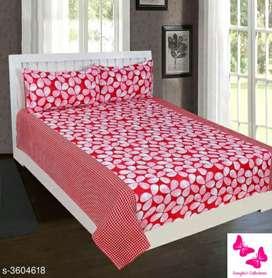 Divine Colorful Polycotton Printed Double Bedsheets Vol 2