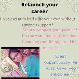 Restart your career