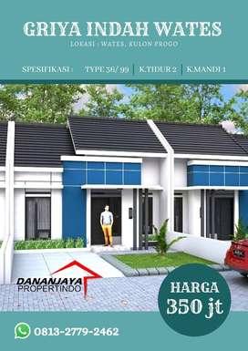 Investasi Rumah Modern Minimalis Strategis Dekat Samsat Kulonprogo.