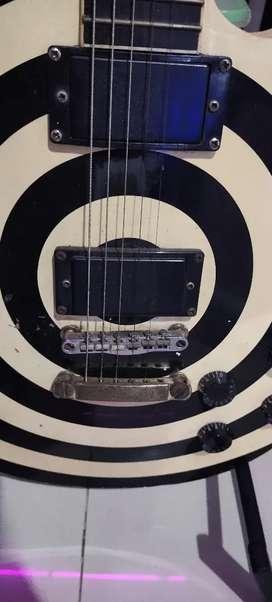 Jual gitar Falcon bulleye bekas