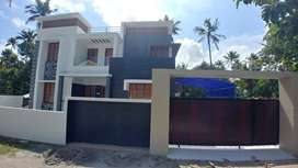 7 cent plot with 2200 sq.ft 4BHK house for sale in kollam decent mukk