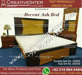 Bed Double Set uptotrend sofa dining table office chair cupboard