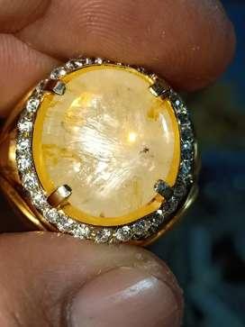 Mirah cempaka Ceylon Trapiche sapphire