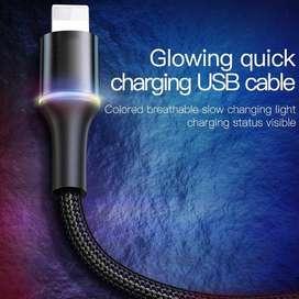 kabel data baseus fast charging iphone