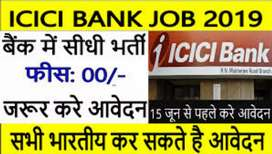 Job opening for icici bank