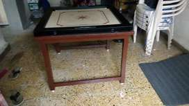 Wooden carrom stand