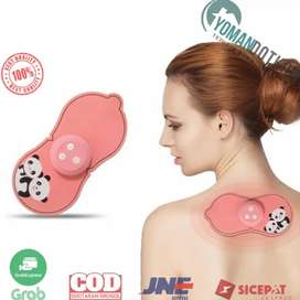 SC-040 Alat Pijat Cervical Massage Stimulator Stickers Rechargeable