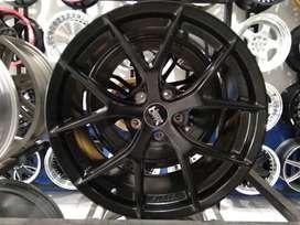 Ready Stock Velg Mobil BRV, Silvia, dll Ring 18 HSR Wheel WURZBURG
