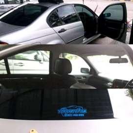Kaca film mobil hijau 40% panggilan bergaransi