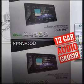 Diobral dvd 2din KENWOOD DDX419BT+camera hd
