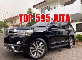 TDP595JT- Land Cruiser 4.5 VXR V8 2016/2017 New Model Black ATPM Sandy