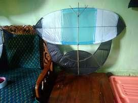 Layangan sendaren ukuran 1 meter bulanan