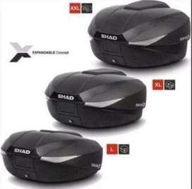 Box shad sh58x expandable + breket yamaha nmax