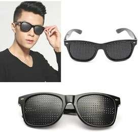 Kacamata terapi pinhole fokus