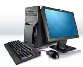 BRANDED COMPLETE LCD COMPUTER in just 4500/-