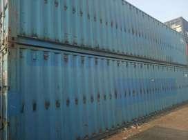 Opentop container bekas