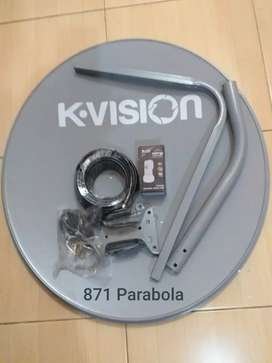 Antena /parabola mini ku band.
