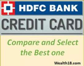 Urgent Requirement In Hdfc Credit Card Department.