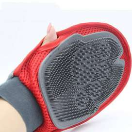 Pet Cat Dogs Doggy Finger Gloves Fur Grooming Glove For Animal - PS305