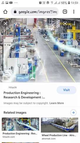 Production engineer ( 0to 3)
