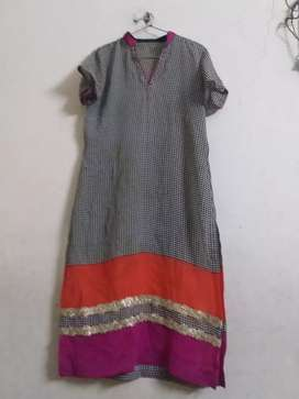 1 time wore stiched kurti