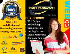 Website/mobile app/Logo/ Banner/Hosting/seo/domain/web/web designer