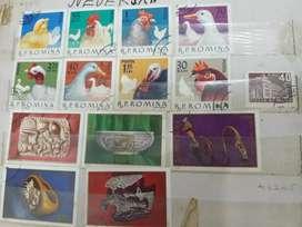 jual koleksi pribadi perangko berkualitas