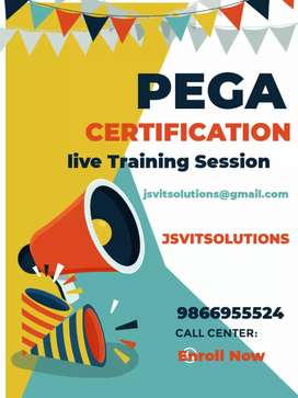 Pega CSA CSSA certification with project Online Training