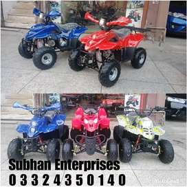 New Stock Auto _ Engine ATV Quad 4 Wheels Deliver In All Pakistan