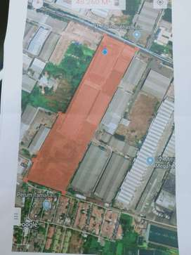 Dijual Gudang+Kantor hit Tanah di Tambak Sawah Sidoarjo
