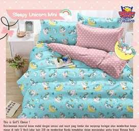 Sprei sleepy unicorn